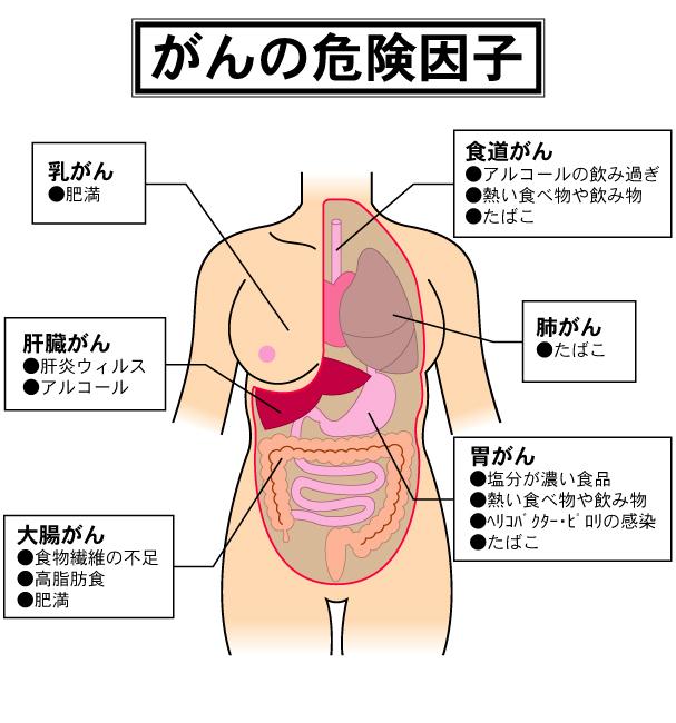 がんの危険因子